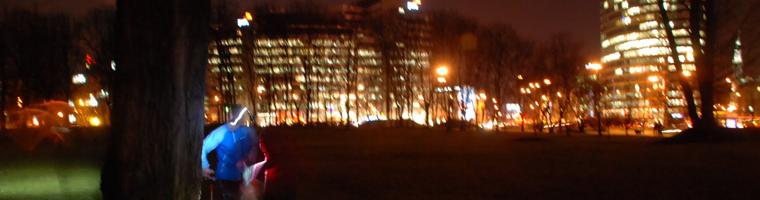 Bieg Warszawa Nocą